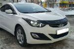 Дефлектор капота (короткий) для Hyundai Elantra 2011+ (VIP, HYD28)