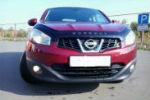 Дефлектор капота для Nissan Qashqai 2009-2014 (VIP, NS34)