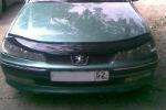 Дефлектор капота для Peugeot 406 1995-1999 (VIP, PG05)