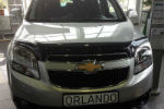 Дефлектор капота для Chevrolet Orlando 2011+ (SIM, SCHORL1112)