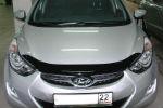 Дефлектор капота для Hyundai Elantra 2011+ (SIM, SHYELA1112)