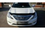 Дефлектор капота для Hyundai Sonata 2010+ (SIM, SHYSON1012)