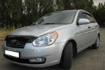 Дефлектор капота для Hyundai Accent/Verna 2006-2009 (SIM, SHYVER0612)