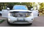 Дефлектор капота для Nissan Patrol 2010+ (SIM, SNIPATR1012)