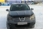 Дефлектор капота для Nissan Qashqai /+2 2007-2009 (SIM, SNIQAS0712)