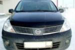 Дефлектор капота для Nissan Tiida 2004-2014 (SIM, SNITII0612)