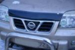 Дефлектор капота для Nissan X-Trail (T30) 2001-2007 (SIM, SNIXTR0112)