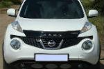 Дефлектор капота для Nissan Juke 2010+ (VIP, NS35)