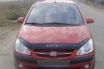 Дефлектор капота для Hyundai Gets 2005+ (VIP, HYD06)