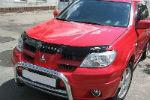 Дефлектор капота для Mitsubishi Outlander 2001-2007 (VIP, MSH09)