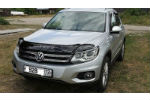 Дефлектор капота для Volkswagen Tiguan 2008+ (VIP, VW24)