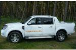 Дефлекторы окон для Ford Ranger II 2007-2011 (COBRA, F33607)