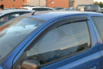 Дефлекторы окон для Toyota Yaris/Vits I/Echo (3D) 1999-2005 (COBRA, T22498)