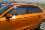 Дефлекторы окон для Audi A3 (8V) HB 2013+ (COBRA, A12512)