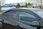 Дефлекторы окон для Chevrolet Aveo SD 2011+ (COBRA, C31711)