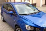 Дефлекторы окон для Chevrolet Aveo (5D) HB 2011+ (COBRA, C31811)