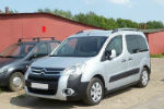 Дефлекторы окон для Citroen Berlingo/Peugeot Partner 3D 2009+ (COBRA, C41209)