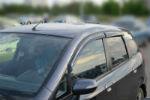 Дефлекторы окон для Honda Jazz II 2008+ (COBRA, H11308)