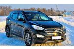 Дефлекторы окон для Hyundai Santa Fe (III) 2012+ (COBRA, H23612)