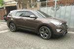 Дефлекторы окон для Hyundai Grand Santa Fe 2013+ (COBRA, H24313)