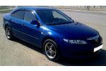 Дефлекторы окон для Mazda 6 I (5D) HB 2002-2007 (COBRA, M20502)