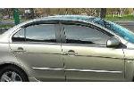 Дефлекторы окон для Mitsubishi Lancer 2007+ (COBRA, M40707)