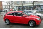 Дефлекторы окон для Opel Astra H (3D) HB 2005+ (COBRA, O10205)