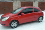 Дефлекторы окон для Opel Corsa D (3D) 2006+ (COBRA, O10706)