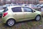 Дефлекторы окон для Opel Corsa D (5D) 2006+ (COBRA, O10806)