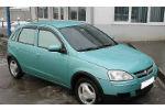 Дефлекторы окон для Opel Corsa C (5D) 2000-2006 (COBRA, O11500)