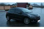 Дефлекторы окон для Peugeot 207 (5D) HB 2006+ (COBRA, P10306)