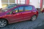 Дефлекторы окон для Peugeot 308 (5D) HB 2008+ (COBRA, P10508)