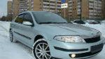 Дефлекторы окон для Renault Laguna II 2001-2007 (COBRA, R10401)