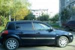 Дефлекторы окон для Renault Megane II (5D) HB 2002-2008 (COBRA, R10802)