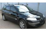 Дефлекторы окон для Renault Megane II Wagon (5D) 2002-2008 (COBRA, R10902)