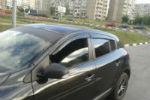 Дефлекторы окон для Renault Megane III (5D) HB 2008+ (COBRA, R11608)
