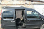Дефлекторы окон для Renault Kangoo II (3D) 2009+ (COBRA, R12309)