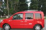 Дефлекторы окон для Renault Kangoo II (5D) 2009+ (COBRA, R12409)