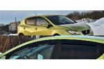 Дефлекторы окон для Seat Ibiza IV (5D) HB 2009+ (COBRA, S10209)