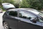 Дефлекторы окон для Seat Leon II HB 2005+ (COBRA, S10305)