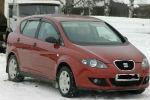 Дефлекторы окон для Seat Toledo III (5P) 5D HB 2006+ (COBRA, S10406)