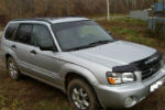Дефлекторы окон для Subaru Forester II 2002-2008 (COBRA, S40702)