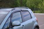 Дефлекторы окон для Suzuki SХ4 I 5D Hb 2006+ (COBRA, S50706)