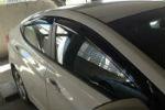 Дефлекторы окон для Hyundai Elantra 2011+ (SIM, SHYELA1132)
