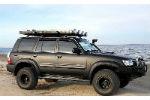 Дефлекторы окон для Nissan Patrol 1998-2010 (SIM, SNIPATR9832)