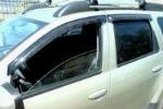 Дефлекторы окон для Renault Duster/Nissan Terrano 2011+ (SIM, SREDUS1132)