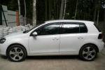 Дефлекторы окон для Volkswagen Golf VI 2009+ (SIM, SVOGOL0932)