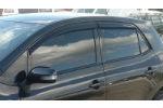Дефлекторы окон для Toyota Auris I (5D) 2007+ (COBRA, T20107)