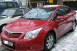 Дефлекторы окон для Toyota Avensis SD 2009+ (COBRA, T20409)