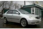 Дефлекторы окон для Toyota Corolla SD 2001-2007 (COBRA, T21001)